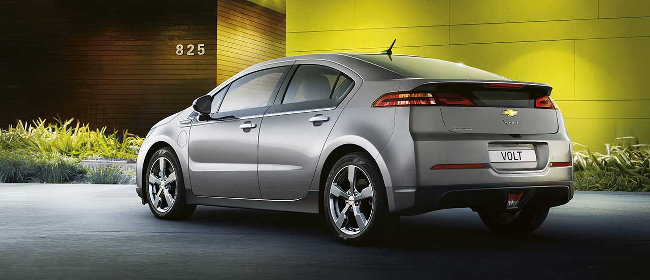 Chevrolet Volt, the electric car with extended range